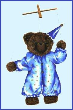 Artist bears by Lorraine McLeod