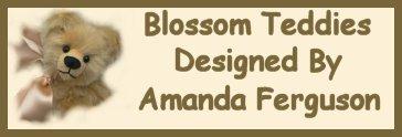 Blossom Teddies-Bears by Amanda Ferguson