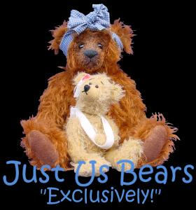Just Us Bears-Collector bears by Hayley Justice