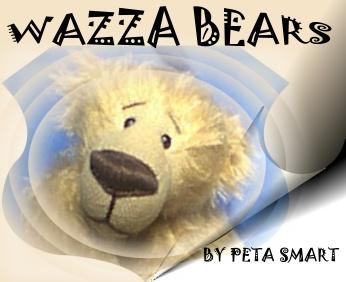 Wazza Bears-Artist bears by Peta Smart
